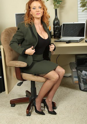 Office Granny Pics